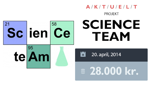 Science Team - crowdfunding - booomerang